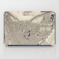 amsterdam iPad Cases featuring Amsterdam by Le petit Archiviste