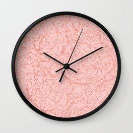 "William Morris ""Acanthus Scroll"" 9. Wall Clock"