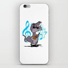T-Rex on the Ukulele iPhone Skin