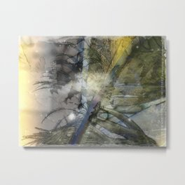 Feather Of A Faeries' Wing Metal Print