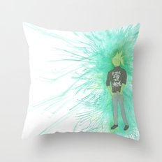 I'm trying so hard to be normal Throw Pillow