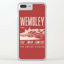 Football Grounds Clear iPhone Case