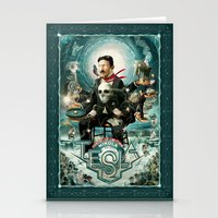 Stationery Cards featuring Nikola Tesla Master of Lightning by Jeff Drew Pictures