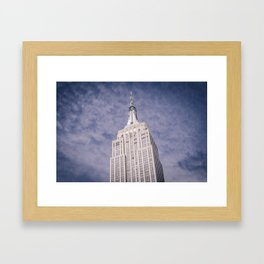 The Empire State Building Framed Art Print