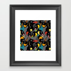 Penquins Framed Art Print