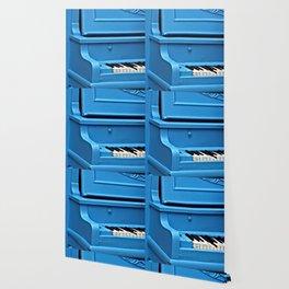 Piano Blues Wallpaper