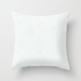 Geometric Y Shaped Pattern Throw Pillow