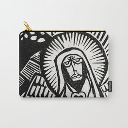 Me - White - Traditional Surrealism Print Carry-All Pouch