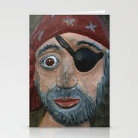pirate Stationery Cards featuring Pirate by Fine2art