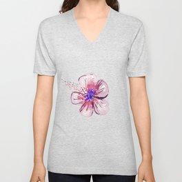 Little Lilac Flower Unisex V-Neck