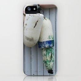 Amagansett Buoys iPhone Case