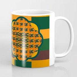 Fall Colors of Orange, Browns and Greens Coffee Mug