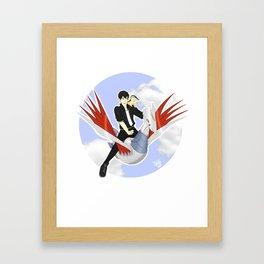 Pokémon Trainer Kageyama Framed Art Print