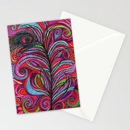 A Bright Feather Stationery Cards