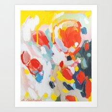 Color Study No. 6 Art Print