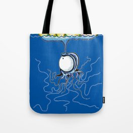 Australian Blue Buttle Tote Bag