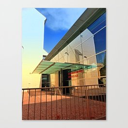 Archeology museum of Wels | architectural photography Canvas Print