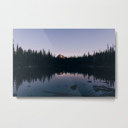 Dark No Name Lake Metal Print