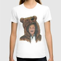 marc johns T-shirts featuring Bear Suit Marc by Kyle Miller
