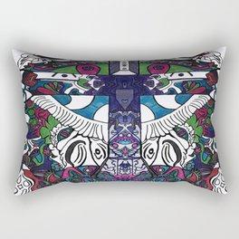 The Cross_2 Rectangular Pillow