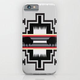 American Native Pattern No. 25 iPhone Case