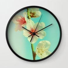 This looks like spring! Wall Clock