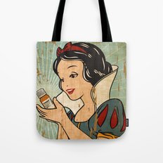 Snow White and her Xanax  Tote Bag