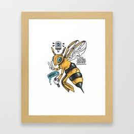 Peace BEE Framed Art Print