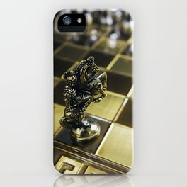 Chess horse iPhone Case