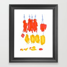 Chinatown II Framed Art Print
