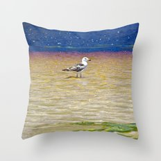 The Red Else Throw Pillow