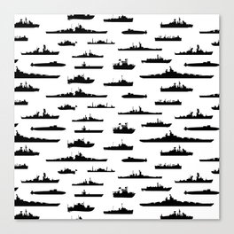 Battleship Canvas Print