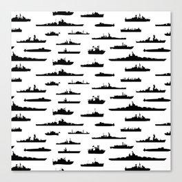 Battleship Canvas Print
