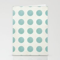 polka dots Stationery Cards featuring Polka Dots by Juste Pixx Designs