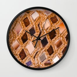 Mirror Work Wall Clock