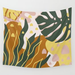 Floral Magic Wall Tapestry