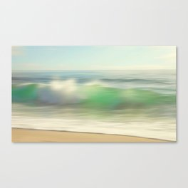 Slowly Rolling Canvas Print