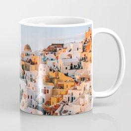 Dreaming at Dusk | Santorini, Greece Coffee Mug