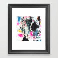 Luana searches her bag Framed Art Print