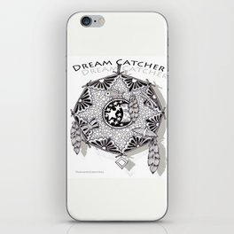 Zentangle Dreamcatcher iPhone Skin