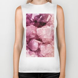 Crystal Rose Biker Tank