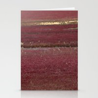 cape cod Stationery Cards featuring Cape Cod Cranberry Bog by Brooke T Ryan Photography