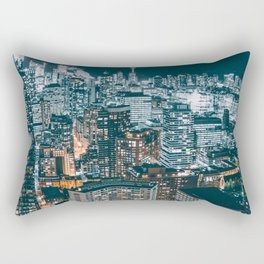 Toronto by night - City at night Rectangular Pillow