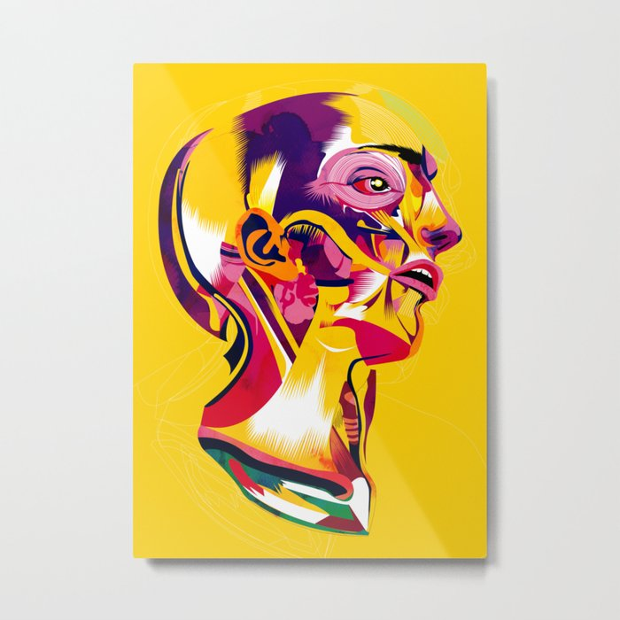 Anatomy 220914 Metal Print
