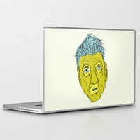 david lynch Laptop & iPad Skins featuring DAVID LYNCH AGAIN by Josh LaFayette
