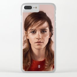 Emma Clear iPhone Case