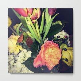 Floral Arrangement Metal Print