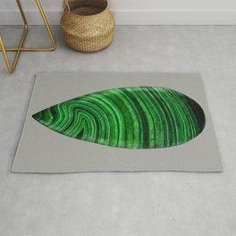 Green Malachite Mineral Rug