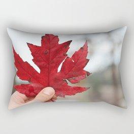 Canadian Leaf Rectangular Pillow