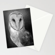Wisdom Barn Owl  Stationery Cards